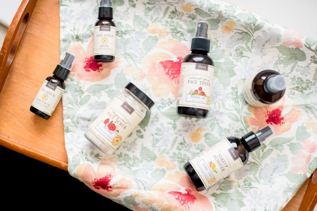 Natural Skincare Products from Thesis Beauty // Miss Molly Moon
