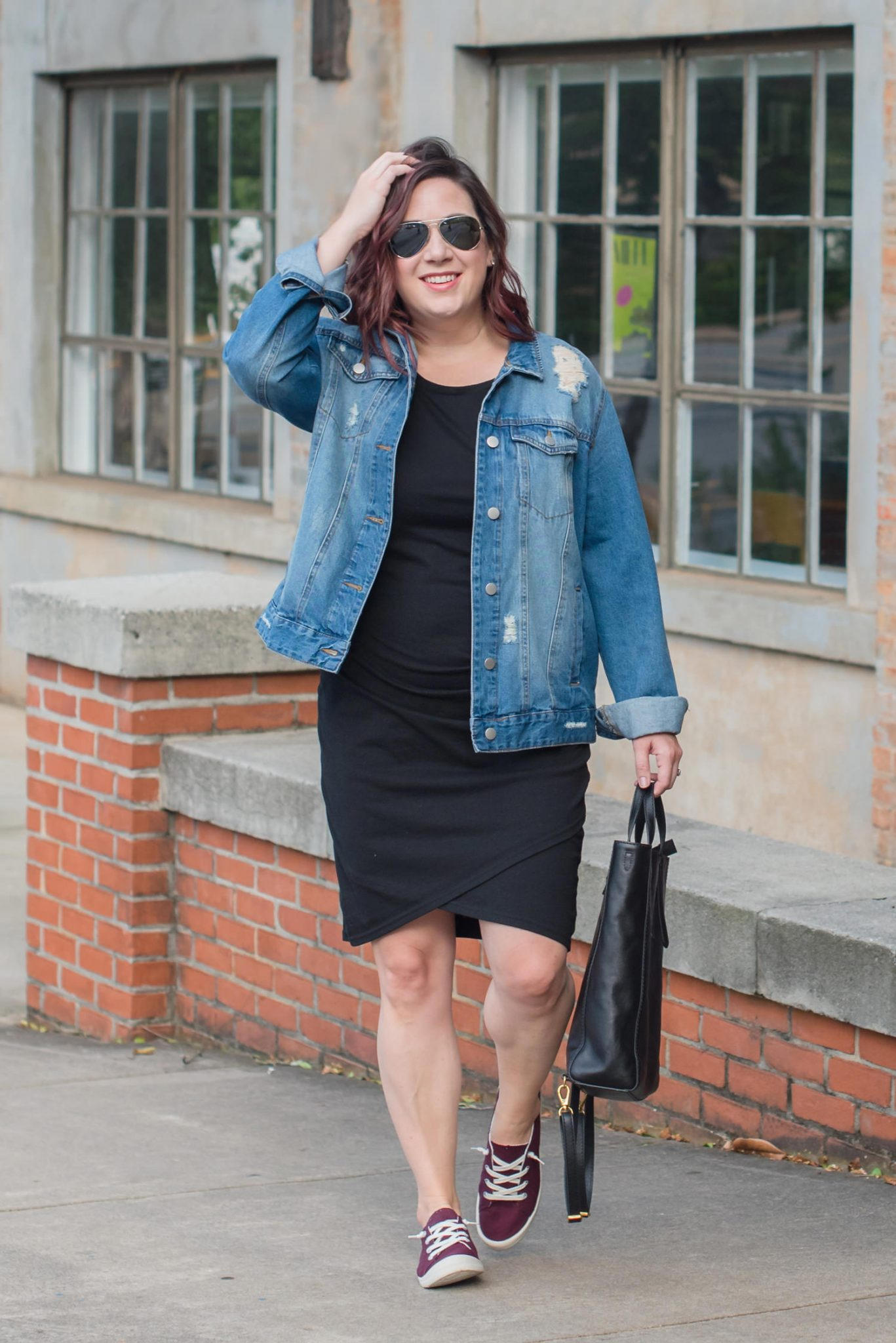 Take your little black dress from day to night! // Miss Molly Moon