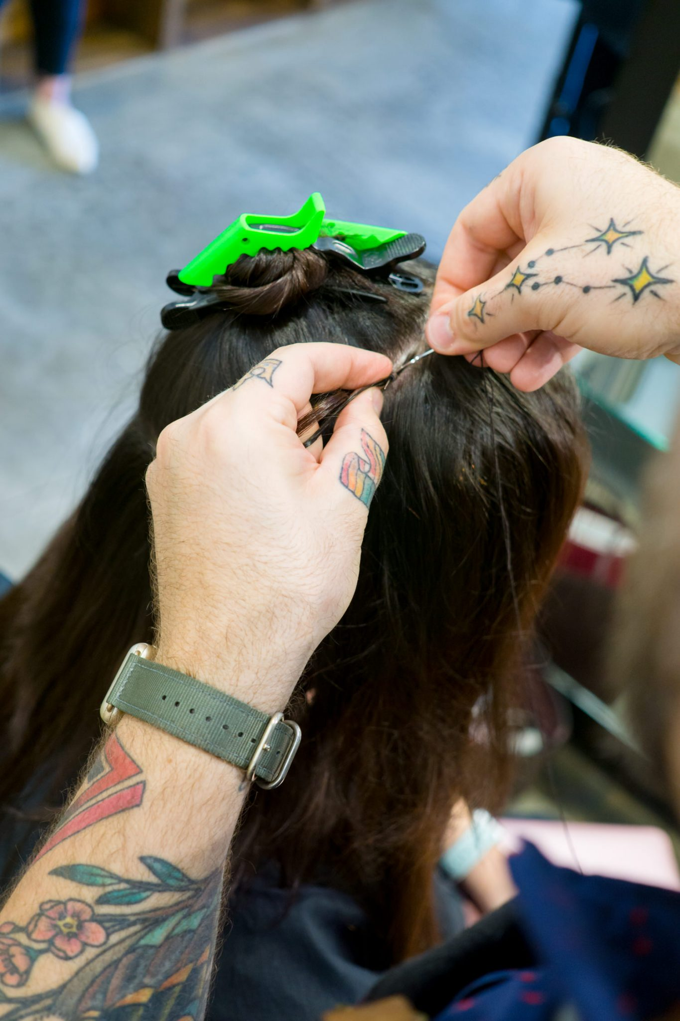 Hand Tied Hair Extensions Life Miss Molly Moon