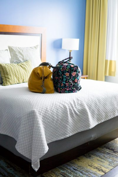 The Best Things to Do in Asheville NC in 24 Hours featured by top US travel blogger, Miss Molly Moon: stay at the Hotel Indigo