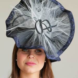 Navy Gin Sin Wired Hat