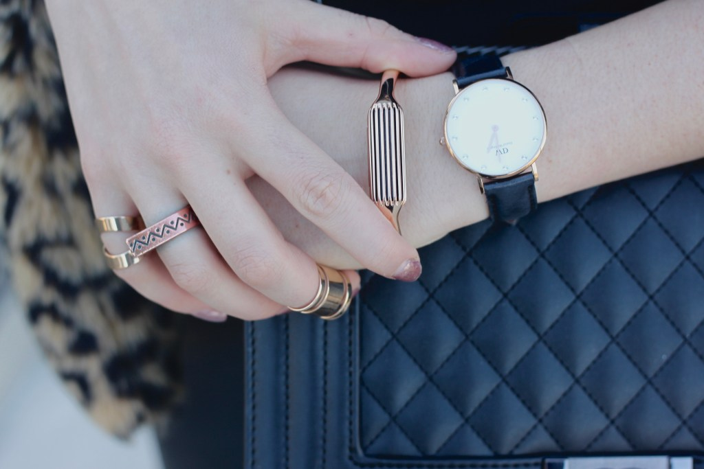 Fitbit Flex 2 bangle with Daniel Wellington