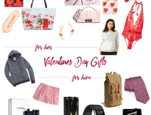 Valentines Day Gift Guide For Him and Her