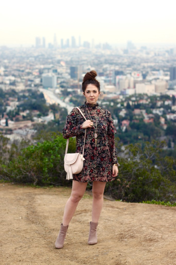 Floral Dress Outfit Post