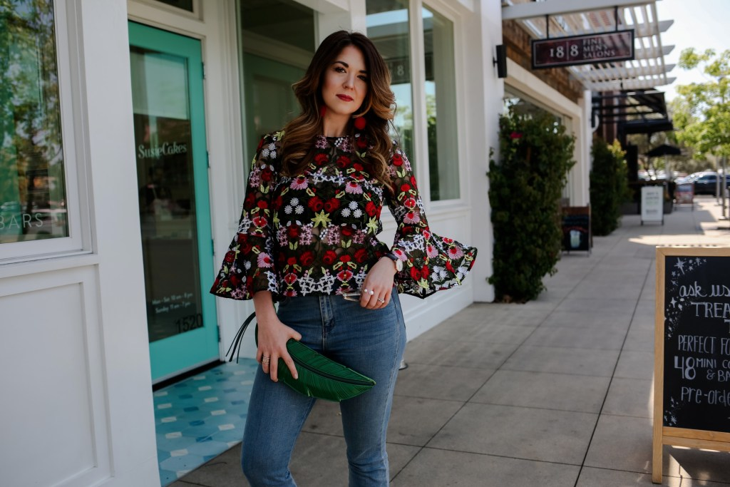 Spring Trends: Bell Sleeve top