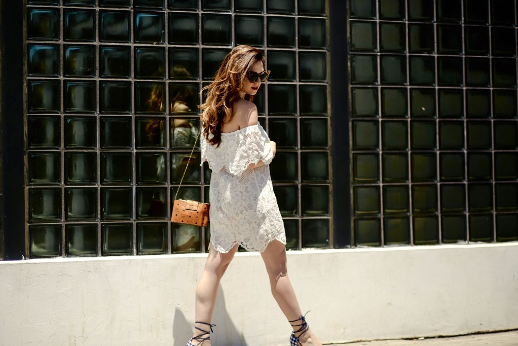 The Little White Lace Dress