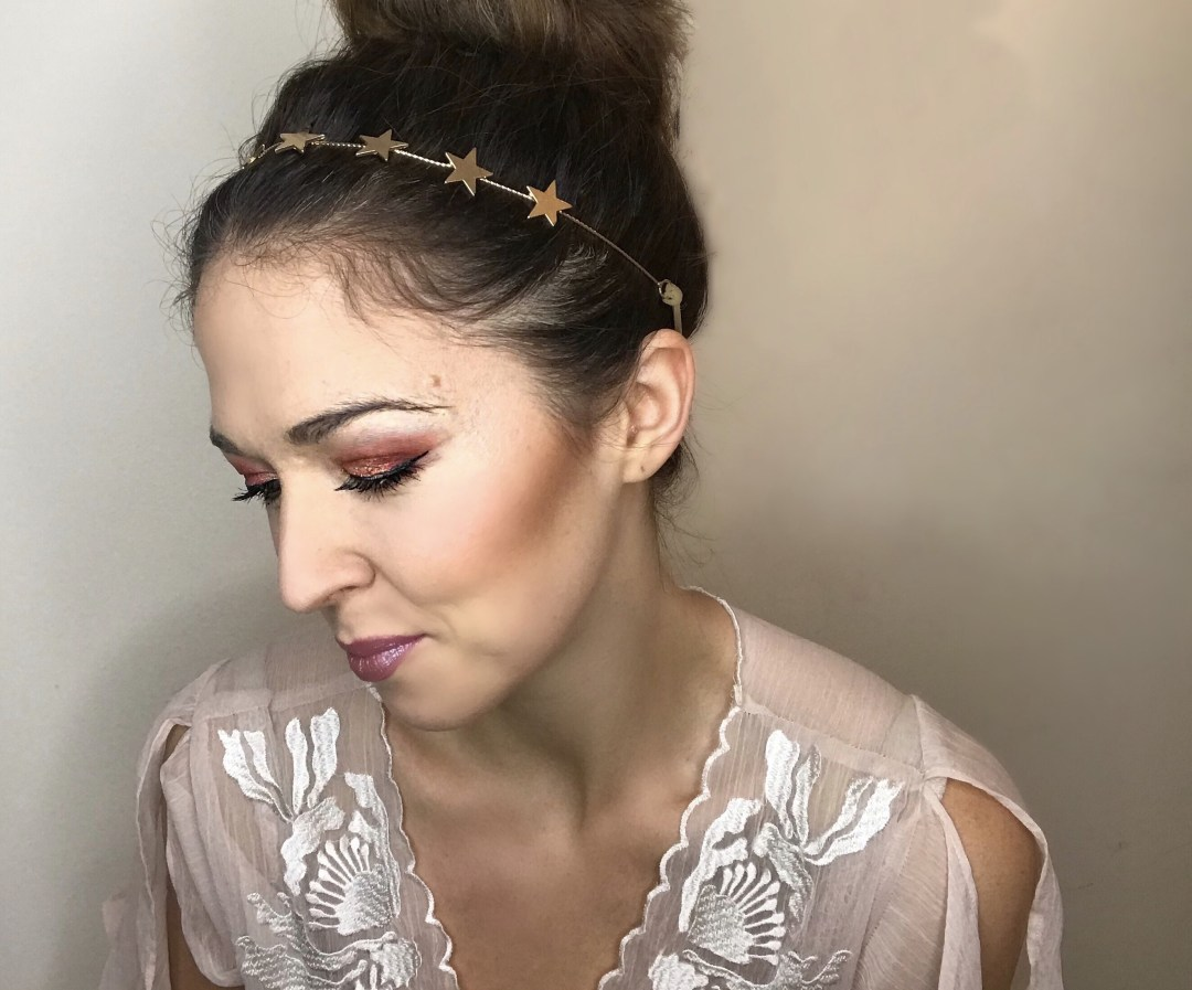 fall metallic makeup
