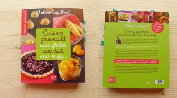 Le livre cuisinez gourmand sans gluten, sans lait, sans oeufs