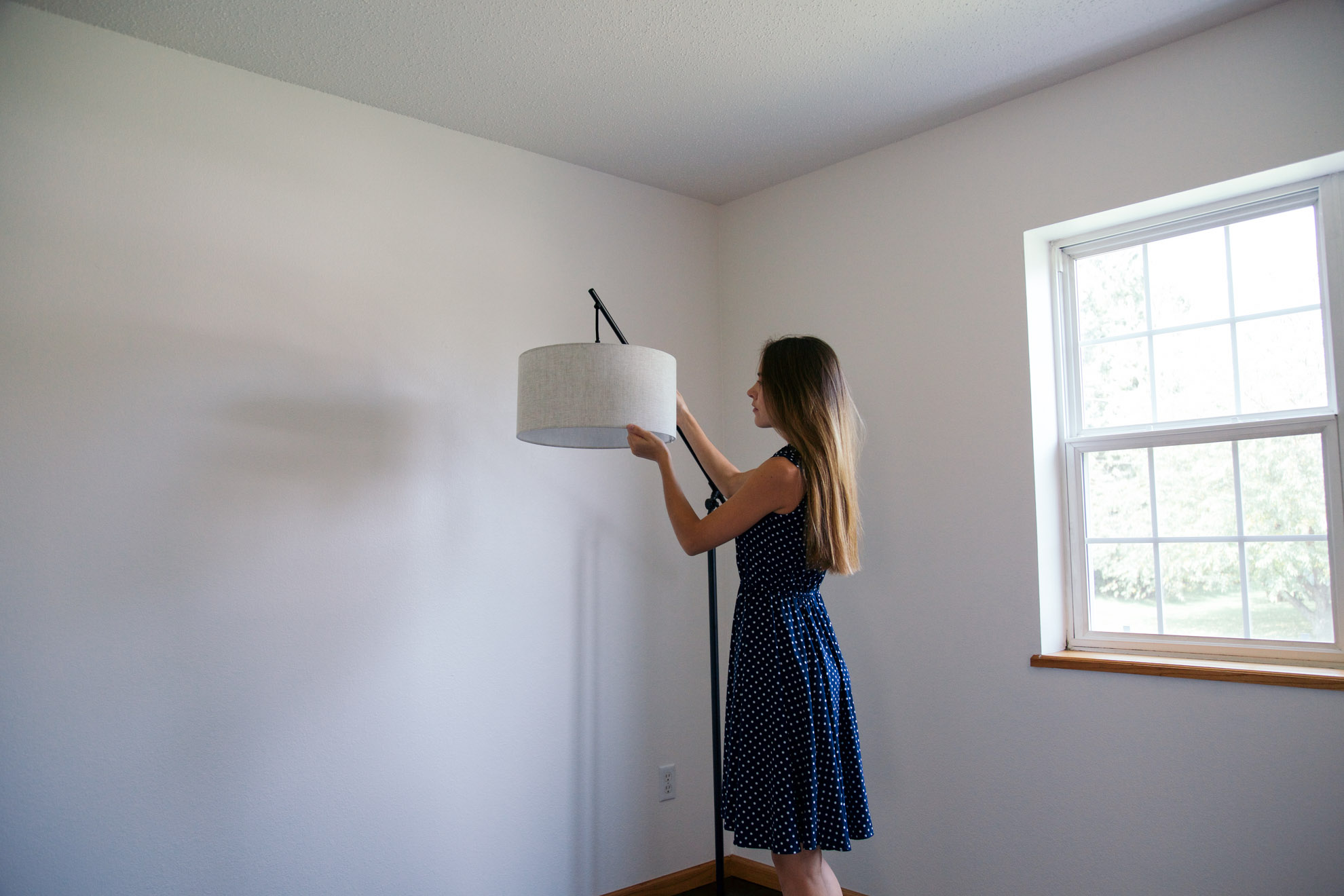 girl with floor lamp miss northerner