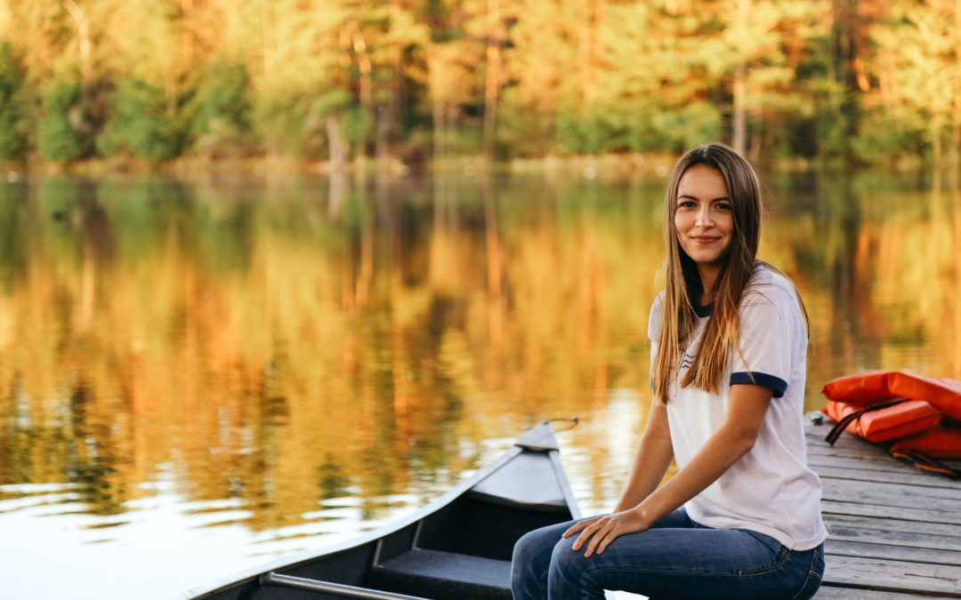 The First Canoe Ride