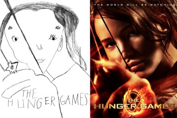 Hunger Games Movie Poster by Phoenix
