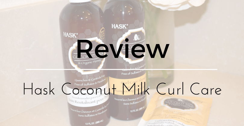 Hask Coconut Milk Curl Care Review: Shampoo and Conditioner