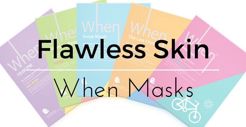 Flawless Skin Featuring When Masks