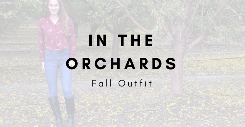 In the Orchards: Fall Outfit