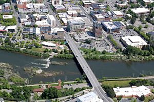Aerial photography project to update city maps after 4 years of     Downtown Missoula and other parts of the city have changed over the past  four years  leaving the aerial maps completed four years ago somewhat  outdated