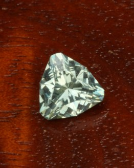 Montana Sapphire Green Trillion
