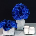 3 Royal Blue Wedding Or Quincenera Centerpiece Ideas For Under 10