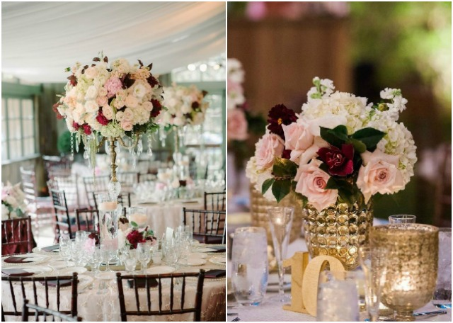 Burgundy and blush wedding ideas for your