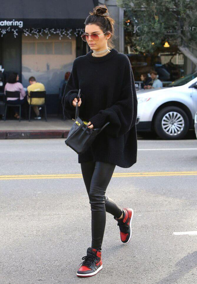 1. trax jenner - 7 Chic Outfit Ideas: What to Wear with Leggings