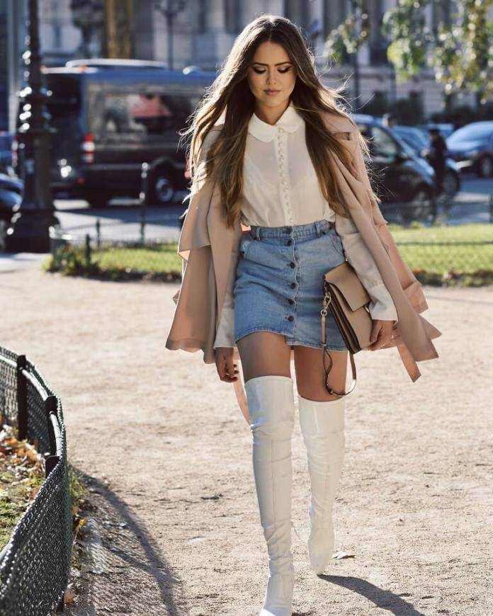 6. Think of high waist bottoms. - 10 Ways to Dress a Pear Body Shape