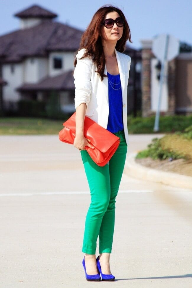 6. www.blouse.empat .site  - 6 Shades of Green: How to Wear Green Pants to Create Stylish Outfits