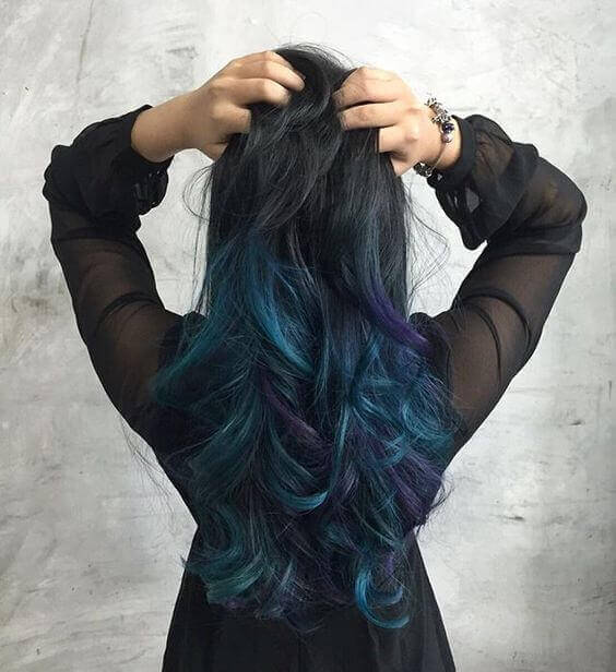 galaxy hair tutorial - Galaxy Hair: How to Do It At Home and Amazing Hairstyles You Need to Try