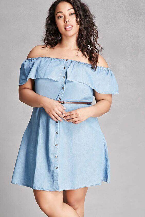 Outfit idea for plus size