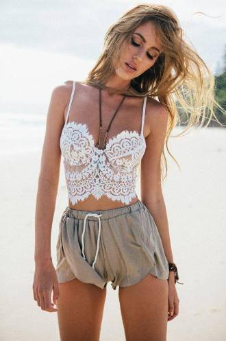 As Summer Lace Top