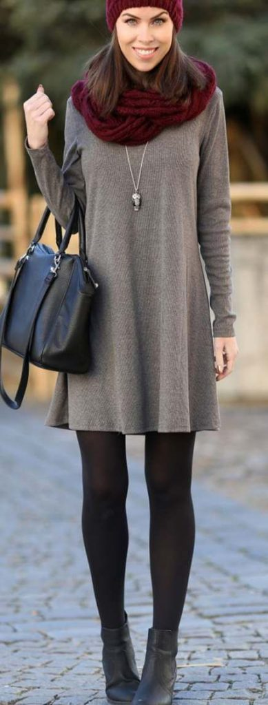 fancy winter dresses outfits