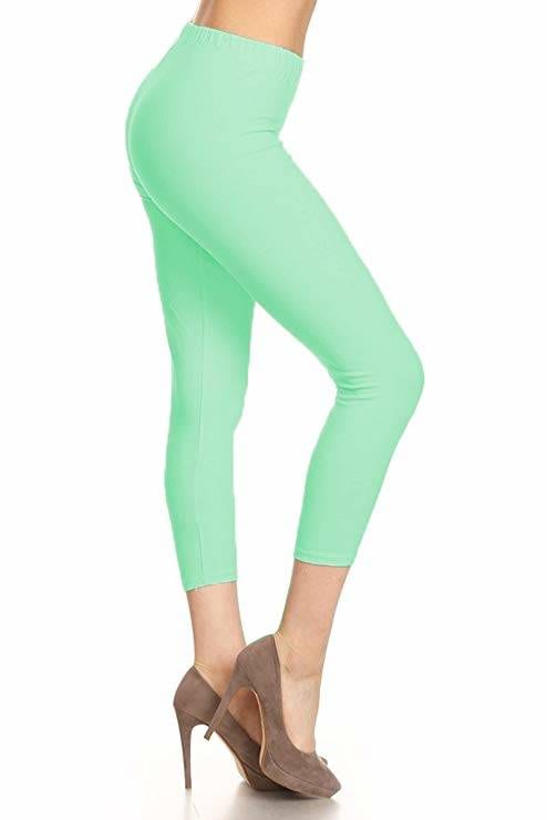 mint green pants