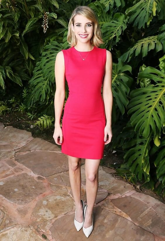 red dress white shoes What Color Shoe To Wear With Red Dress: 8 Stylish Color Ideas