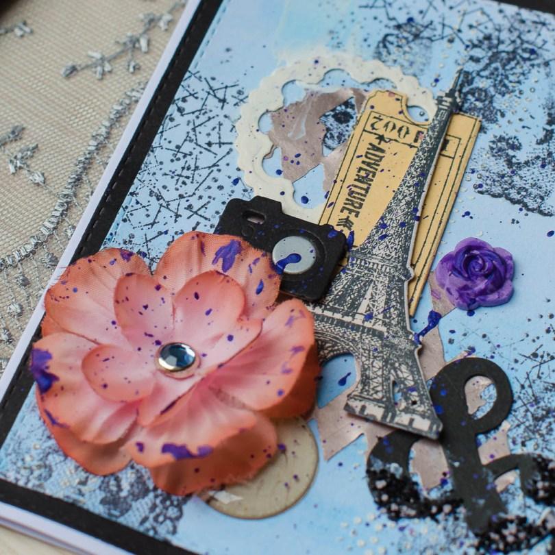 "MissQ kort ""Photo i Paris"""