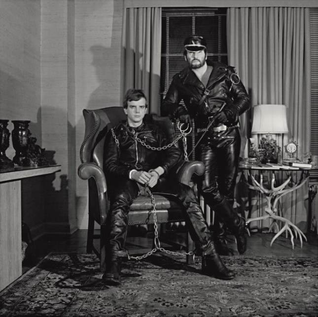 Photo: Robert Mapplethorpe, Brian Ridley and Lyle Heeter, 1979. Gelatin silver print, The Robert Mapplethorpe Foundation, N.Y. © Robert Mapplethorpe Foundation. Used by permission.