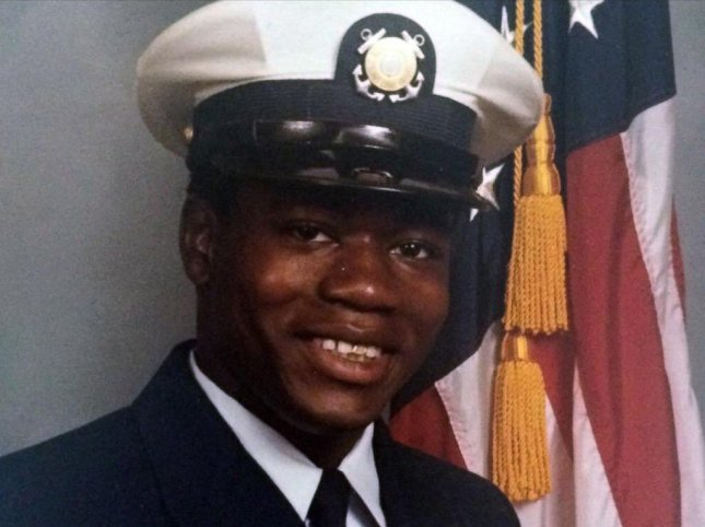 Walter Scott during his service in the U.S. Coast Guard in the mid-1980s