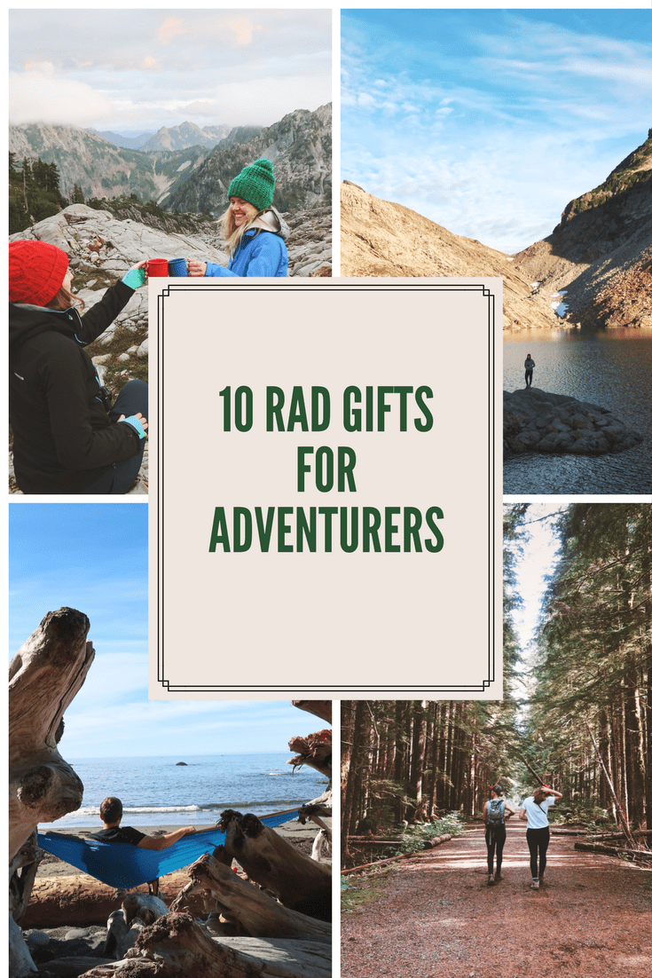 10 Gifts for the Rad Adventurer