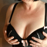 hands on boobs