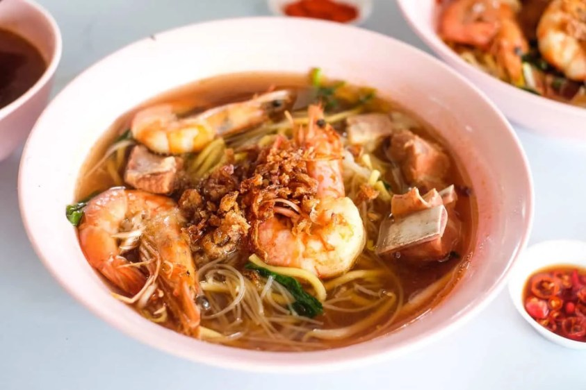 Image result for prawn mee