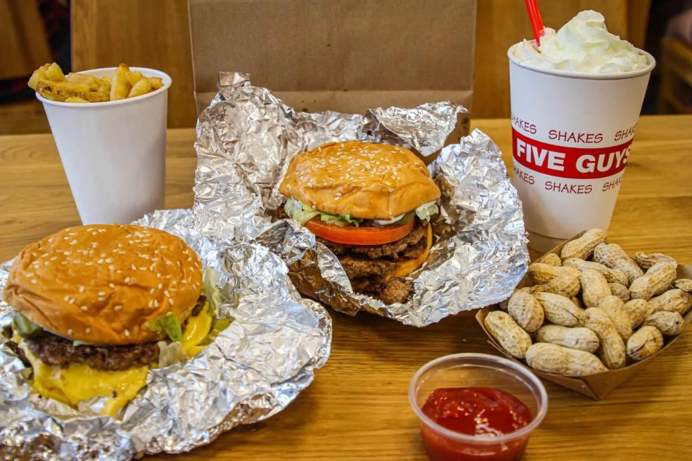 Five Guys - The Famous American Burger Joint Lands In Singapore! - Miss Tam Chiak
