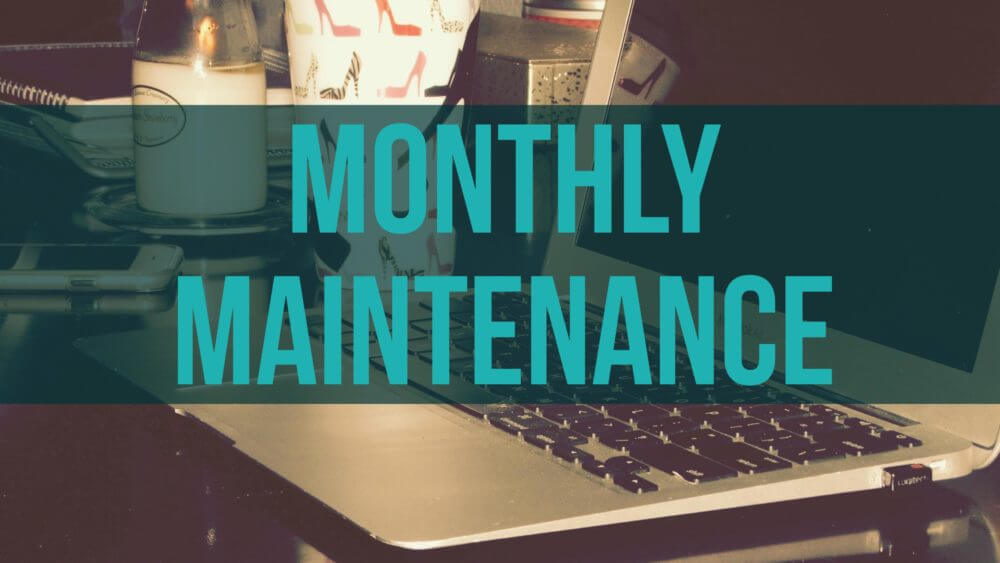 Miss Task WordPress Monthly Maintenance Checklist