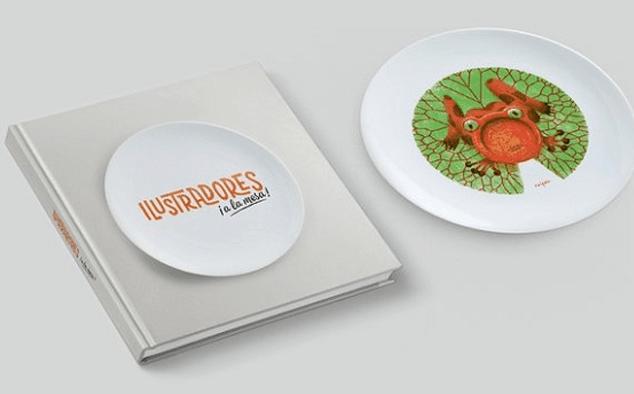 Ilustradores a la mesa, un proyecto de ilustradores españoles y gastronomía