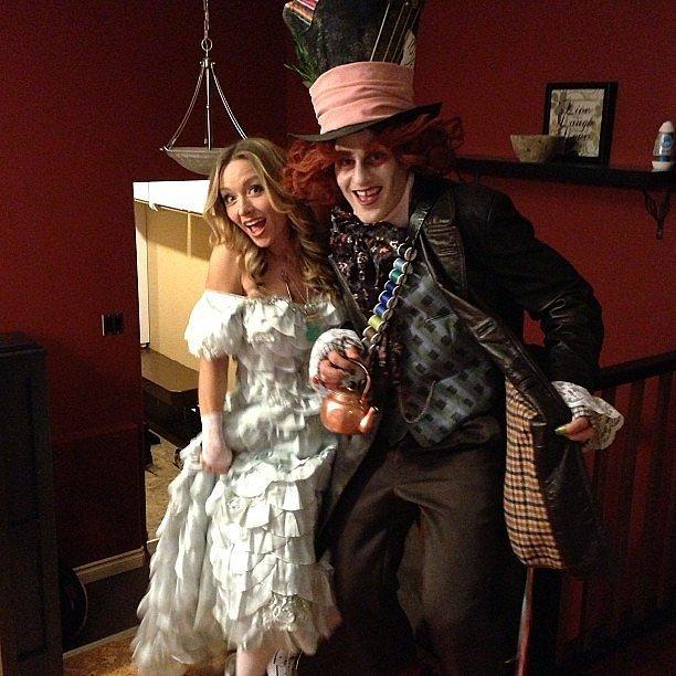 Alicia y Sombrerero Loco