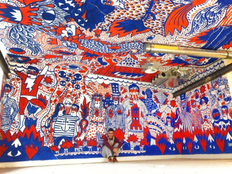 Mural de Ricardo Cavolo