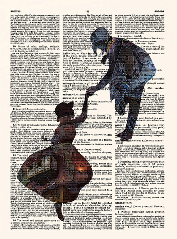 Lamina Ilustrada Castillo Ambulante Ghibli