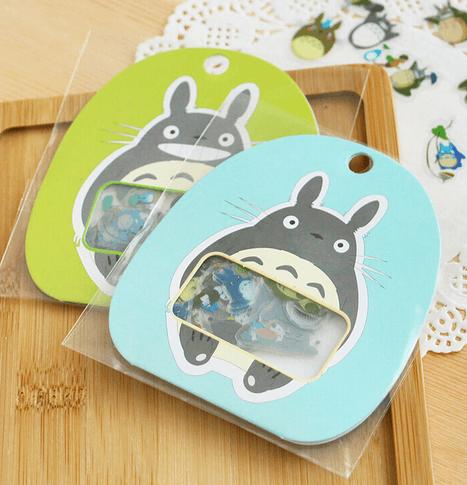 Pack pegatinas de Mi Vecino Totoro