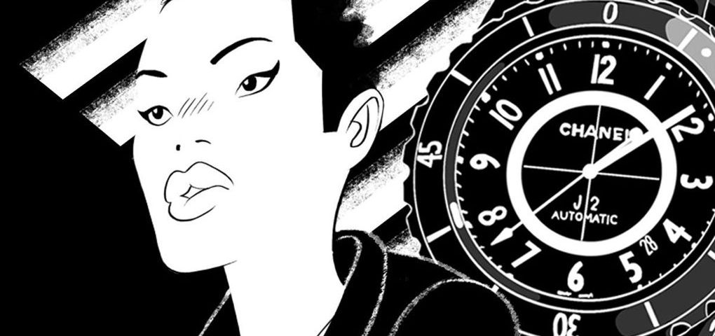 Stealing Time, un cómic online de alta costura lanzado por Chanel y Vogue