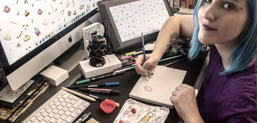 Entrevista a Sara González, ilustraciones kawaiis en Sara Gummy