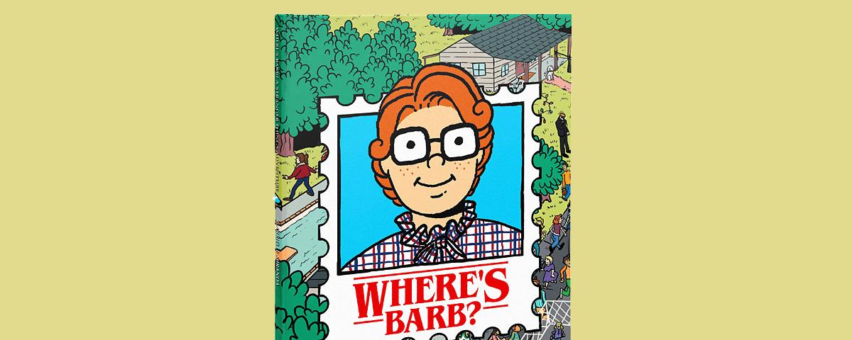 Un ¿Dónde está Wally? basado en Stranger Things en el que buscas a Barb