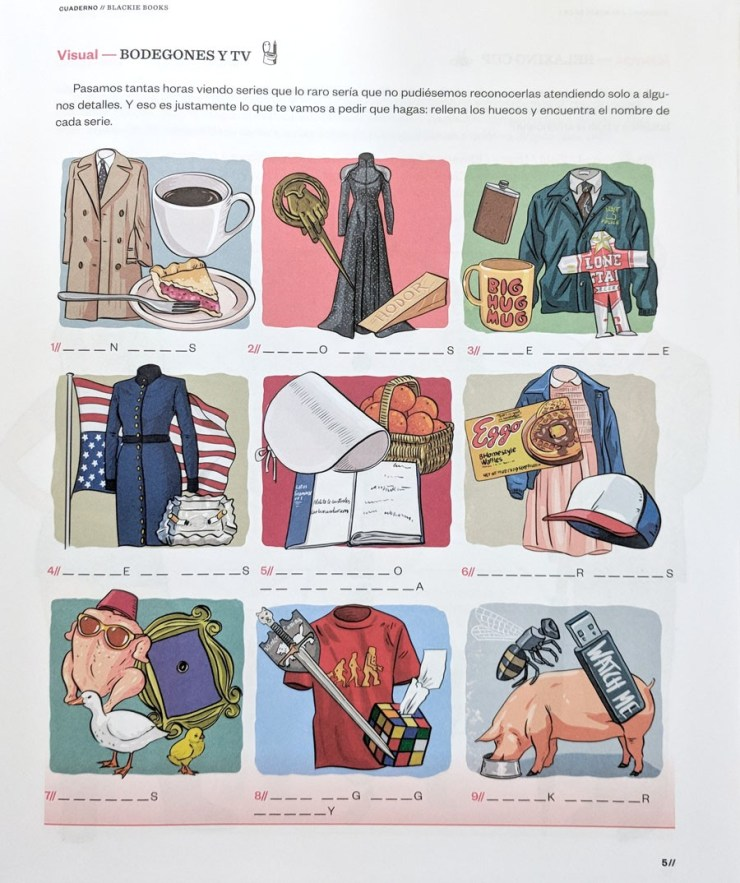 cuaderno vacaciones adultos blackie books