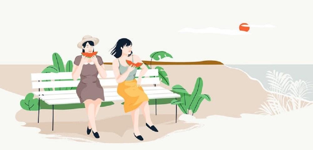 El verano capturado en las ilustraciones de Cami