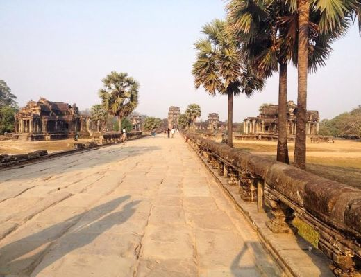 Kambodžské pláže, Siem Reap a Angkor Wat